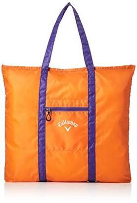 Callaway (キャロウェイ) - [キャロウェイアパレル] 定番 トートバッグ (ロゴプリント) [ 241-9981502 / TOTE BAG ] ゴルフ バッグ 150_オレンジ