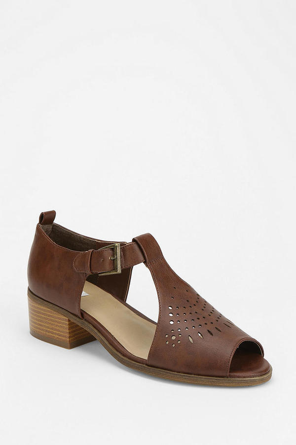 Urban Outfitters Cooperative Cutout T-Strap Sandal
