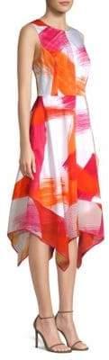 Donna Karan Crewneck Trapeze Dress