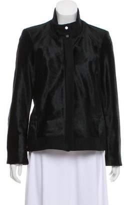 Helmut Lang Fur Paneled Jacket
