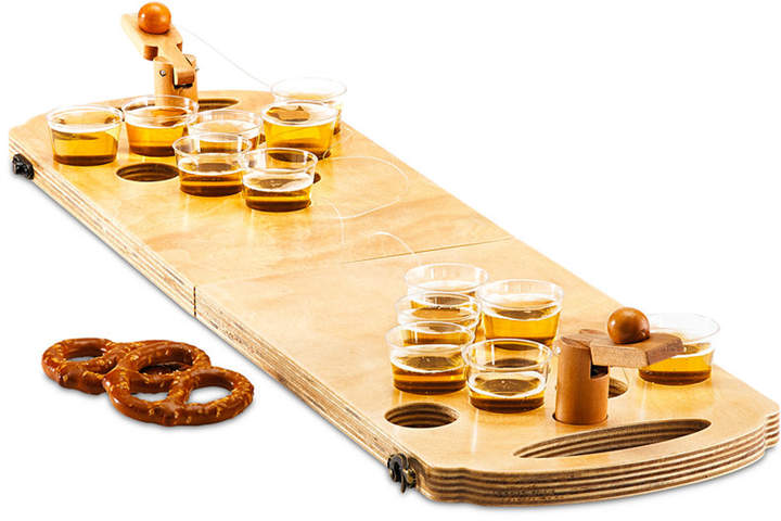 Studio Mercantile 24-Pc. Mini Wood Beer Pong Game