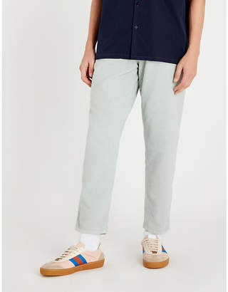 Gucci Regular-fit tapered moleskin jeans