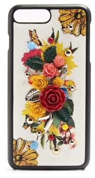 Dolce & Gabbana Majolica Print Iphone 7 Plus Case - Womens - Multi