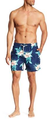 The Endless Summer Floral Print Swim Trunks