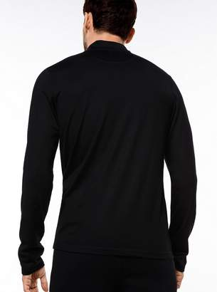 Michael Kors Merino Jersey Quarter-Zip Pullover