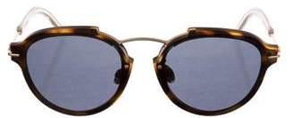 Christian Dior Eclat Round Sunglasses