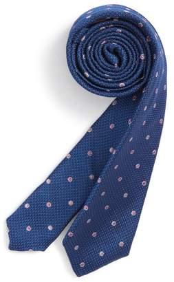 Michael Kors Dot Print Silk Tie