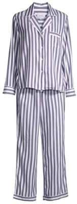 Rails Two-Piece Striped Pajama Top and Pants Set