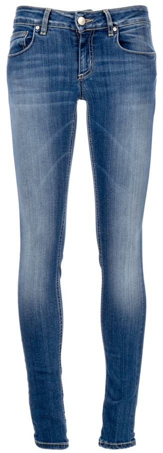Dondup Faded skinny jean