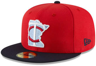 sports shoes 46783 82b12 New Era Boys  Minnesota Twins Players Weekend 59FIFTY Fitted Cap