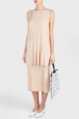 Pleats Please Issey Miyake Monthly Pleated Midi Skirt
