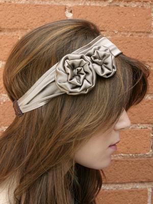 JENNIFER BEHR Double Rosette Headwrap