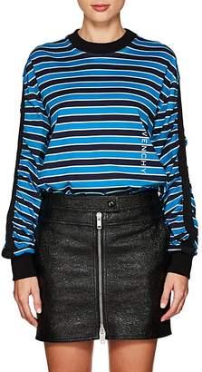 Givenchy Women's Logo Striped Cotton T-Shirt