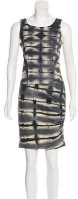 Nicole Miller Tina Tina Leather Dress