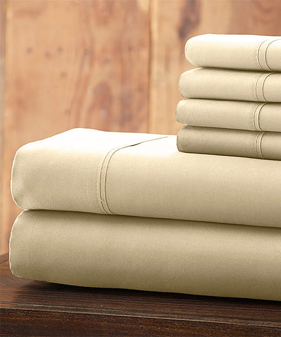 Ivory Everyday Essentials Microfiber Sheet Set