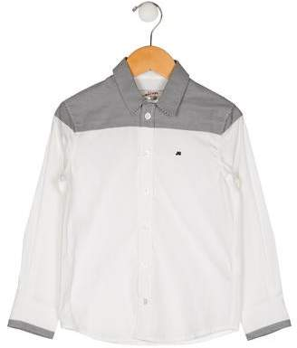 Junior Gaultier Boys' Button-Up Shirt