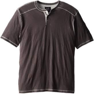 Modern Culture Men's Big-Tall Boom Solid Henley Shirt