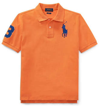 Ralph Lauren Kid's Classic-Fit Cotton Mesh Polo