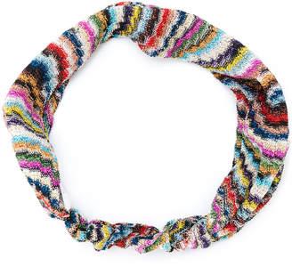 Missoni multi-print headband