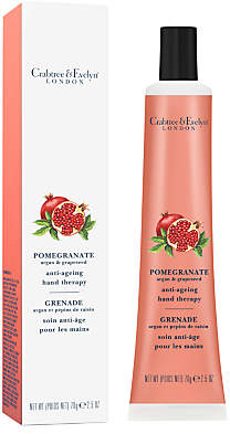 Crabtree & Evelyn Pomegranate, Argan & Grapeseed Anti-Ageing Hand Therapy Cream, 70g