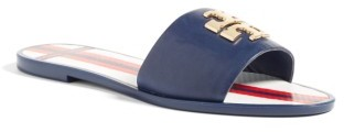 Women's Tory Burch Logo Slide Sandal $150 thestylecure.com