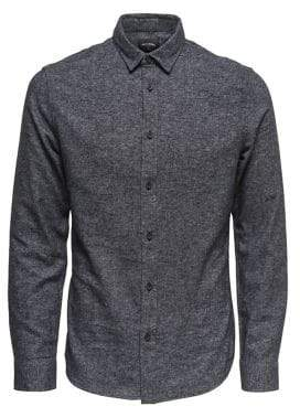 ONLY & SONS Onsking Flannel Button-Down Shirt