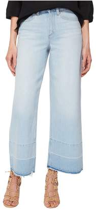 1 STATE 1.STATE Five-Pocket Released Hem Wide Leg Jeans in Corsica Wash Women's Jeans