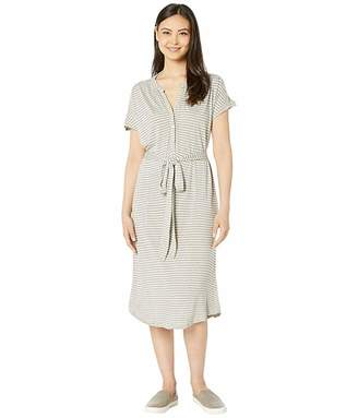 Lucky Brand Knit Henley Dress