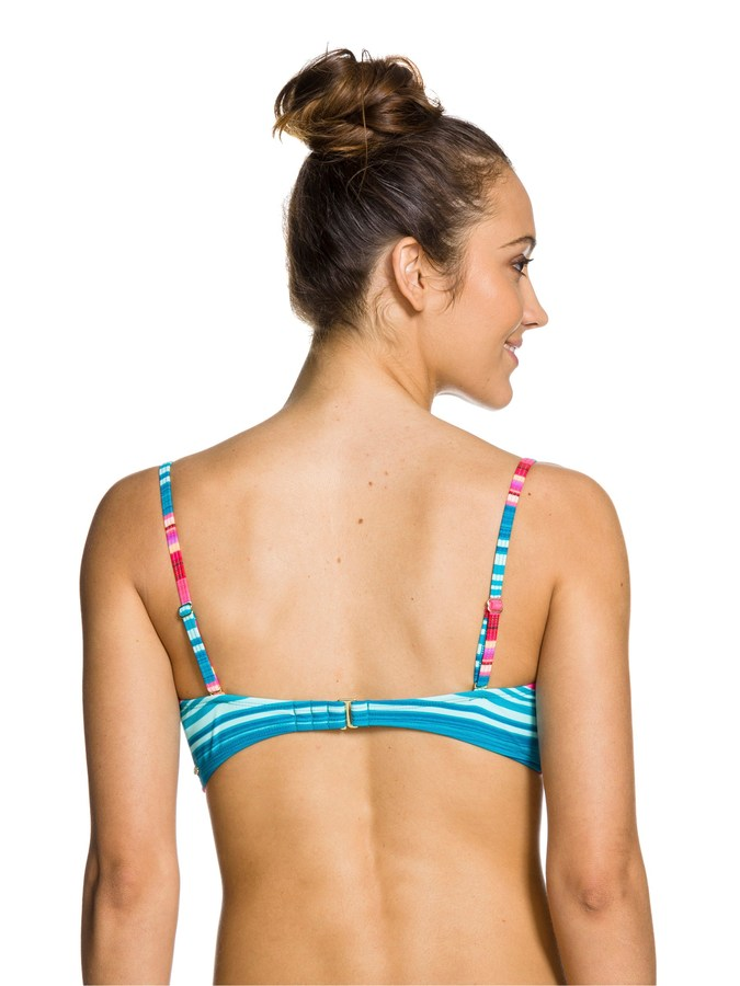 Roxy Coast Is Clear Underwire Bandeau Top