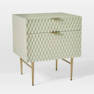 "west elm Audrey Media 21"" 2-Drawer Cabinet"