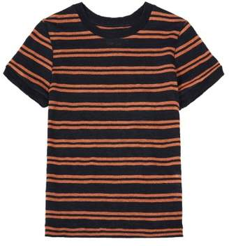 Bellerose Sale - Mogo81 Linen Striped T-Shirt