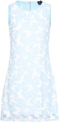 Izabel London Butterfly Print Lace Dress