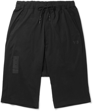 Y-3 Skylight Cotton-Jersey Shorts $190 thestylecure.com