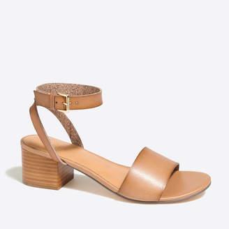 J.Crew Factory Block-heel sandals