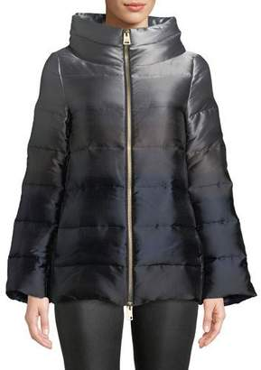 Herno Down-Fill Ombre Puffer Coat
