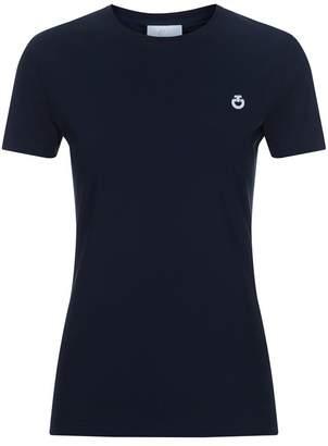 Cavalleria Toscana Stripe Knit Hem T-Shirt