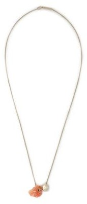 Proenza Schouler Gold-Tone Stone Necklace