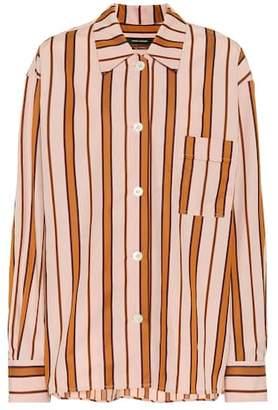 Isabel Marant Venice striped cotton shirt