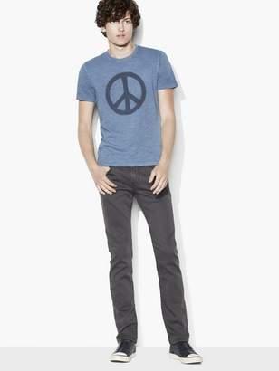 John Varvatos Peace Symbol Tee