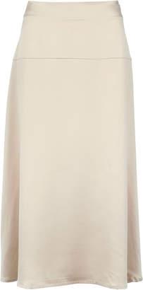 Alara La Collection Silk Midi Skirt