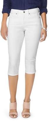 NYDJ Skinny Capri Jeans in Optic White