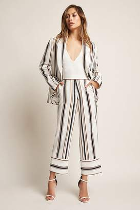 Forever 21 Cropped Stripe Pants