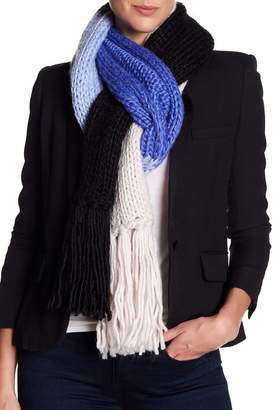 Kate Spade Knit Colorblock Scarf