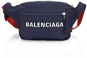 bb6695eb88 Balenciaga Men s Wheel Logo Belt Bag