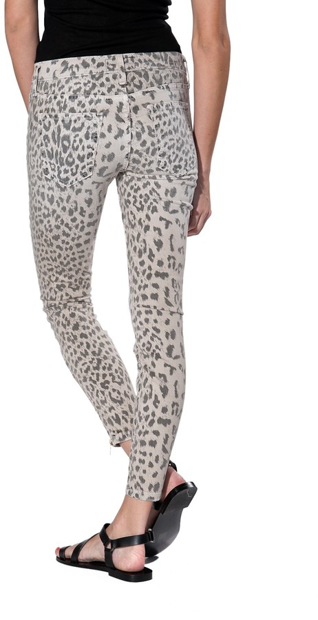 Current/Elliott Soho Printed Zippered Jean