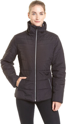 Women's Champion Puffer Hooded Jacket $140 thestylecure.com