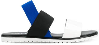Pollini colour block sandals
