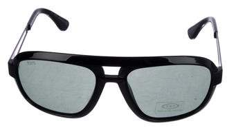 Tod's Tinted Aviator Sunglasses