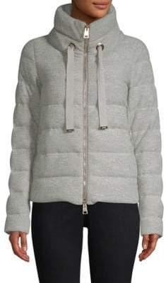 Herno Glow Wool Puffer Coat