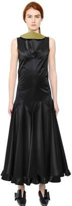 J.W.Anderson Sleeveless Heavy Satin Dress